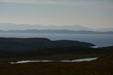 Vue sur l'île de Skye